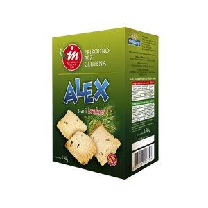 Alex Slani Kreker od Prosa i Lana 150g, bez glutena, Aleksandrija