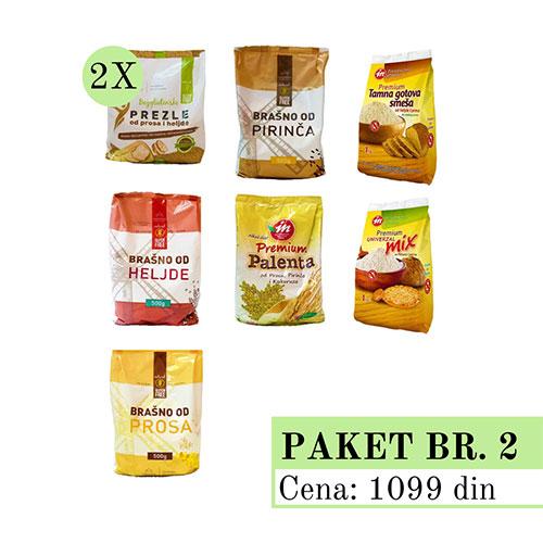 Promo Paket 2, bez glutena, Aleksandrija Fruška Gora