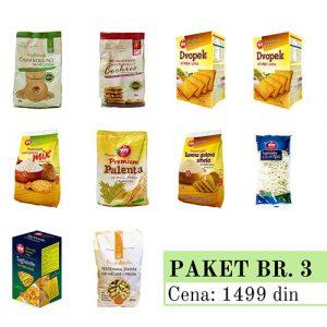 Promo Paket 3, bez glutena, Aleksandrija Fruška Gora