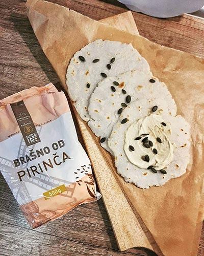 Pirinčane Tortilje, GLUTEN FREE SHOP Aleksandrija -Fruška Gora-