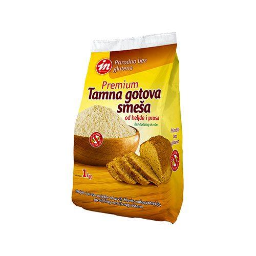 Premium Tamna Gotova Smeša od Heljde i Prosa, bez glutena, Aleksandrija